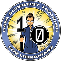 data scientist training for librarians logo